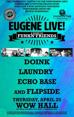 Eugene LIVE! - A Night of FunkN' Friends: Laundry, Doink