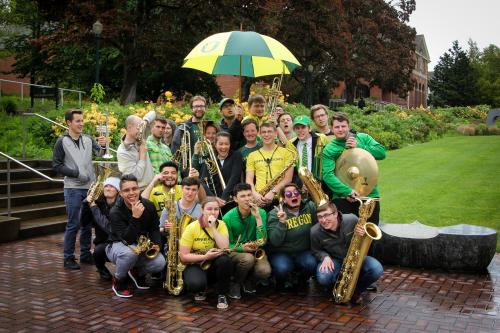 Green & Yellow Garter Bands | WOW Hall & The Community