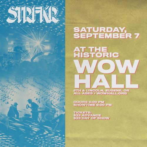 STRFKR with Reptaliens | WOW Hall & The Community Center for